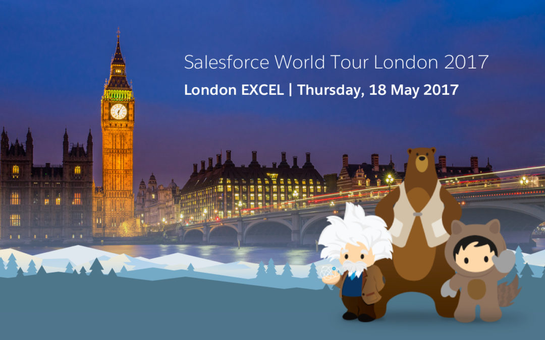 My First Salesforce World Tour