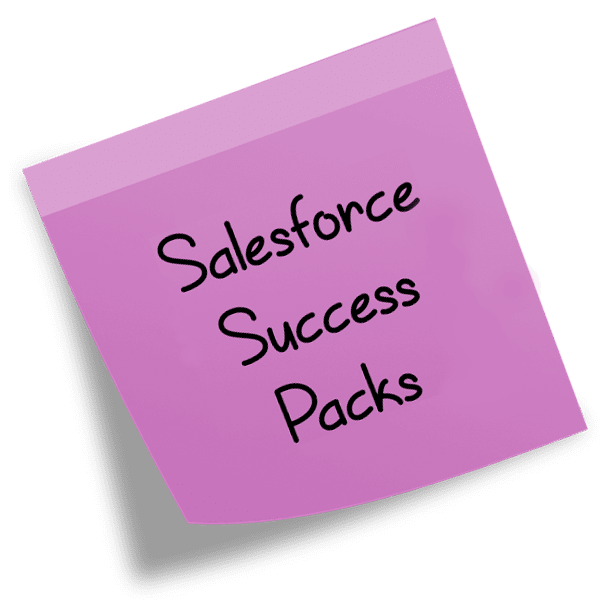 Salesforce Success Packs