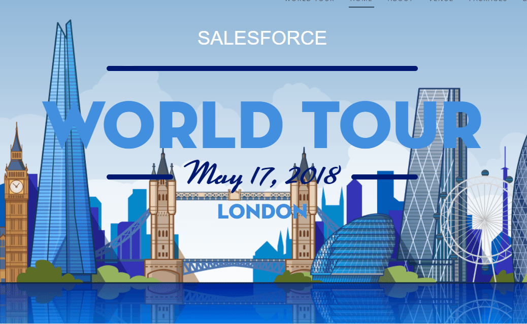 Five Quick Tips For Attending The Salesforce World Tour