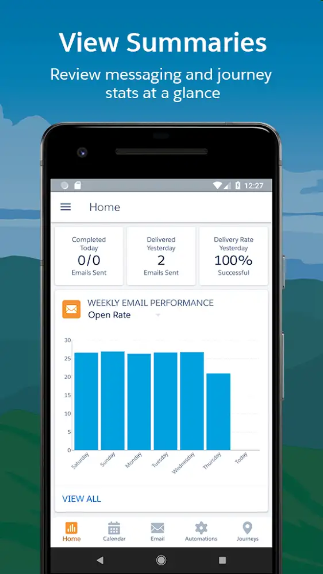 Salesforce Marketing Cloud App