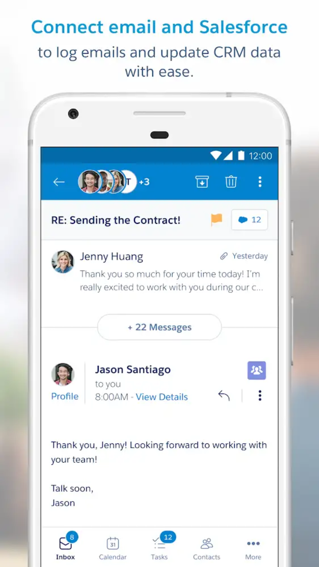 Salesforce Inbox App