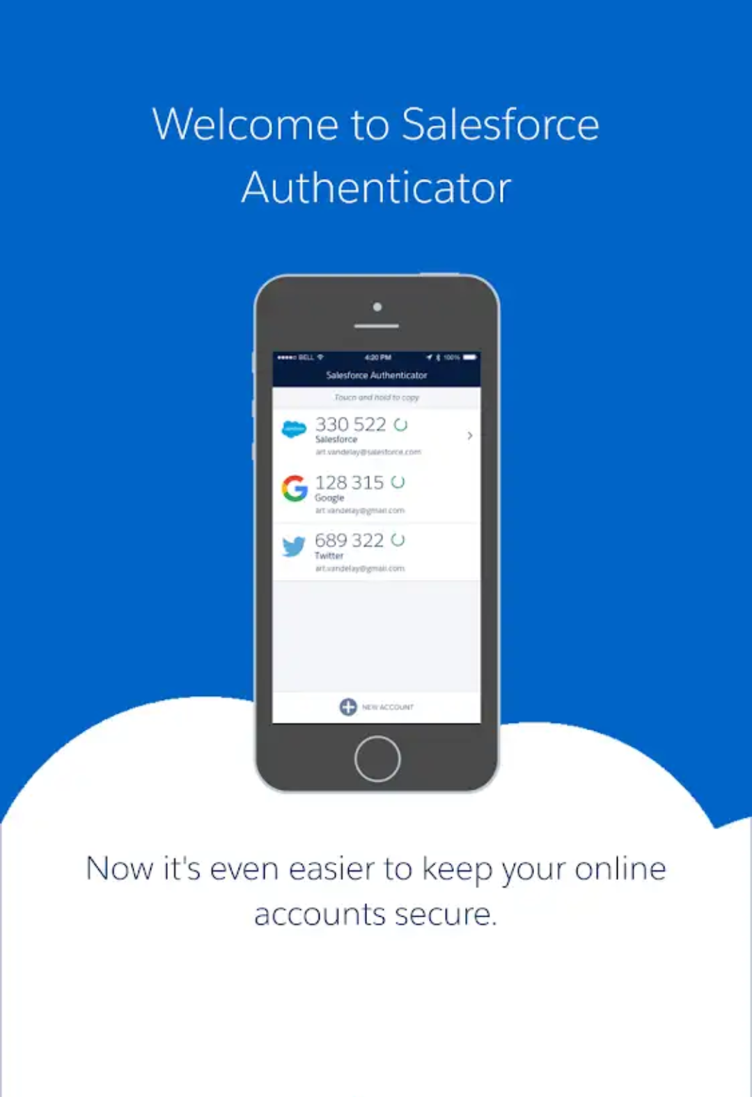 Salesforce Authenticator App