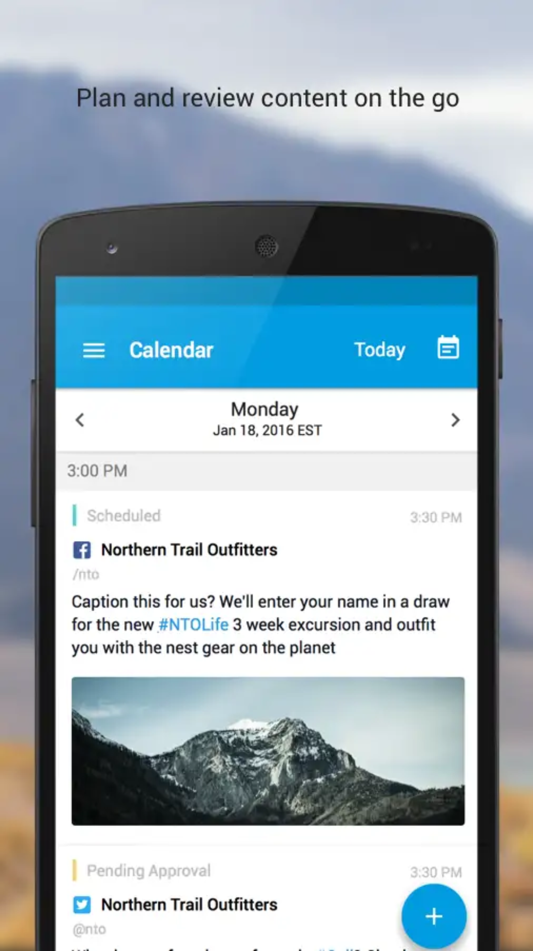 Salesforce Social Studio App