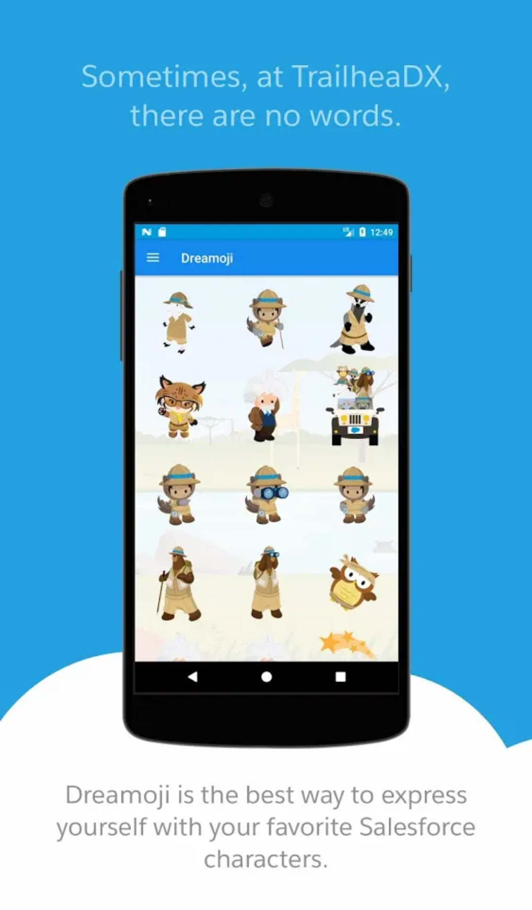 Salesforce Dreamoji App