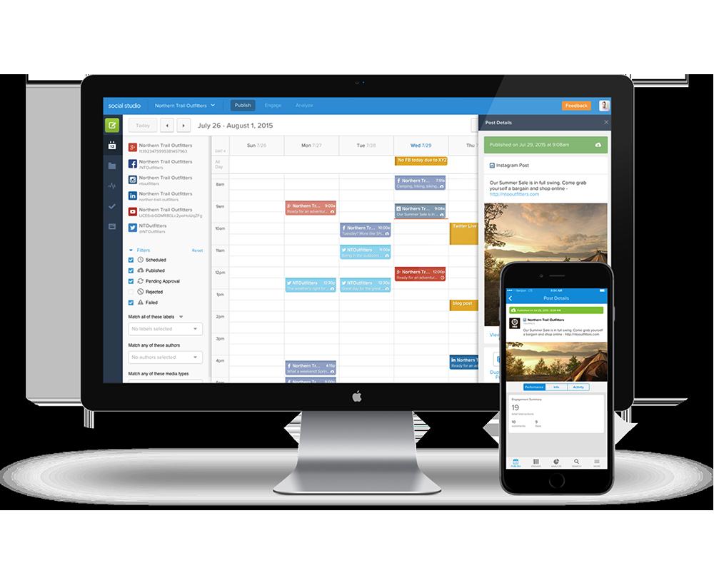 Scheduling on Salesforce Social Studio