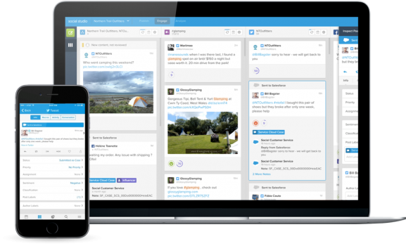 Using Social Studio on different devices