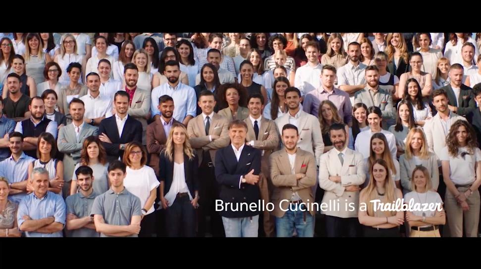 Brunello Cucinelli is a trailblazer