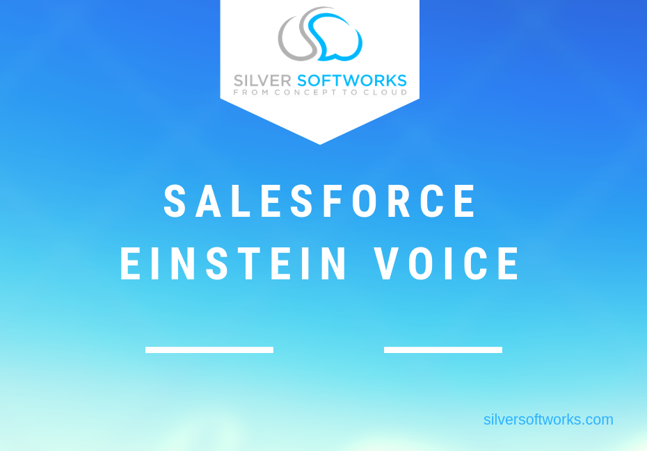 What is Salesforce Einstein Voice?