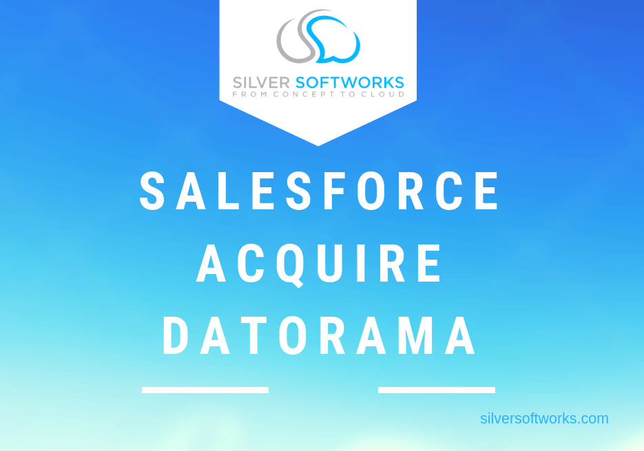 Salesforce acquire Datorama
