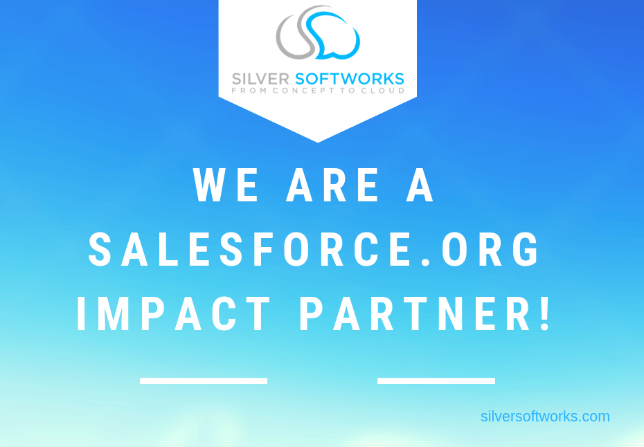 We are a Salesforce org Impact Partner!