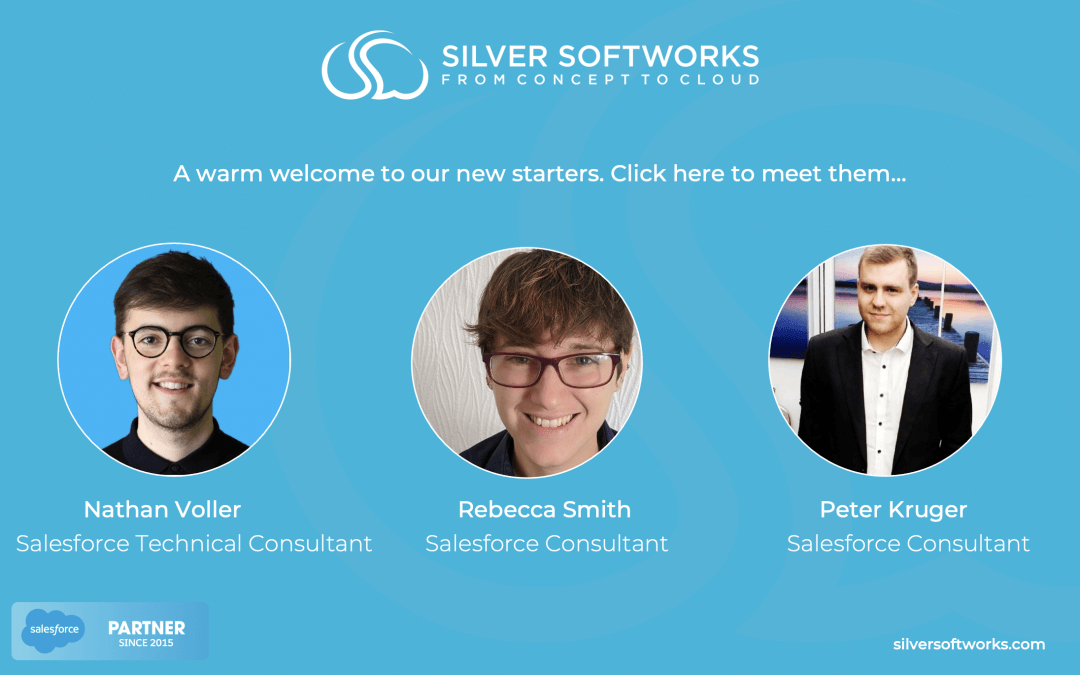 A warm welcome to our new starters